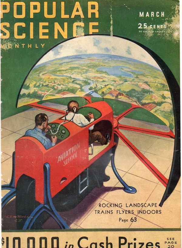 JF Ptak Science Books: Future Steampunk in the Air-1930's ...