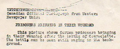 WWI--German prisoners--marching text329