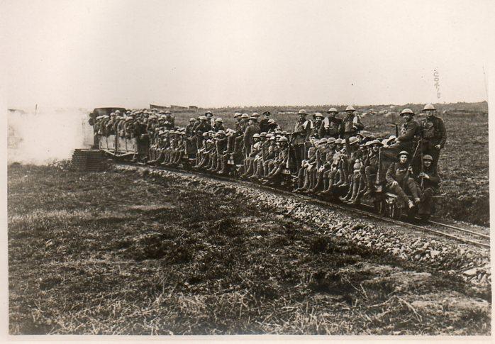 Marching railway car355