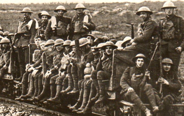 Marching railway car356