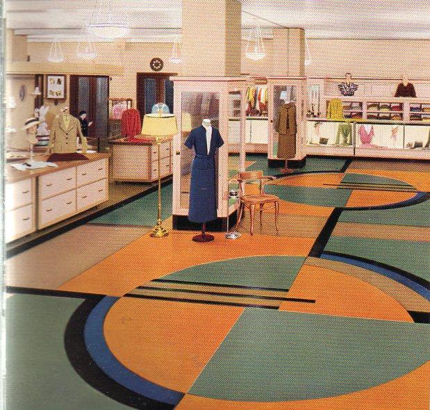 Color floor--clothing store376