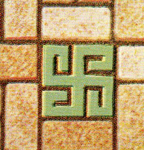 Color floor--swastika 378