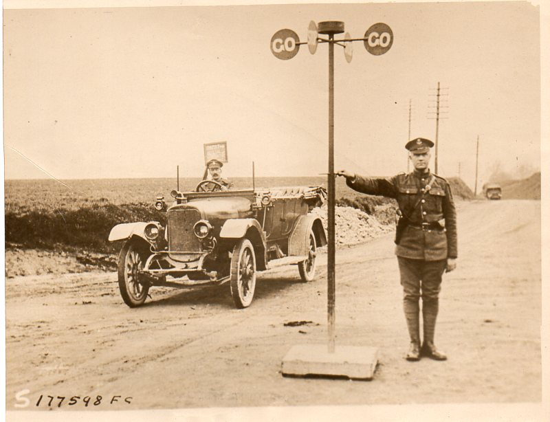 WWI--great images--traffic control053