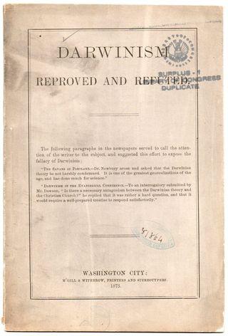 Darwin refuted296