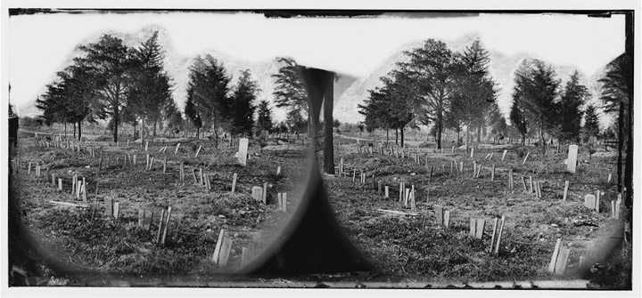 Confederate graves