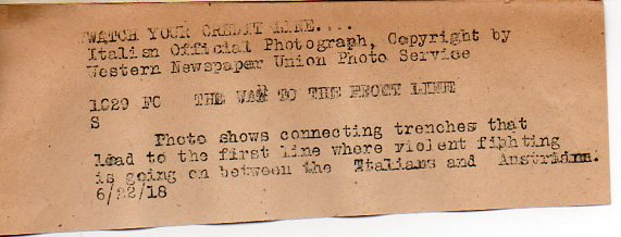 WWI photo--trench note046