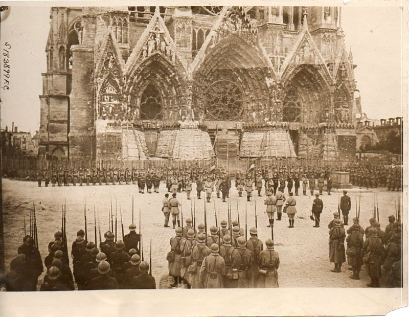 WWI photograph--spires071