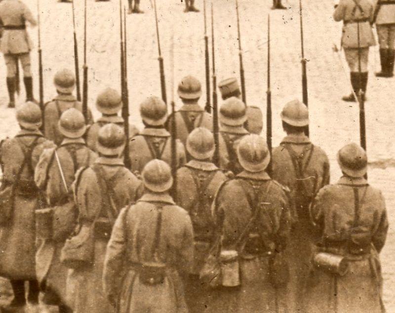 WWI photograph--spires det072