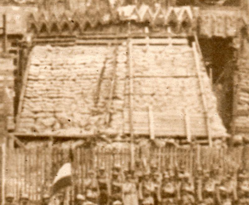 WWI photograph--spires det074