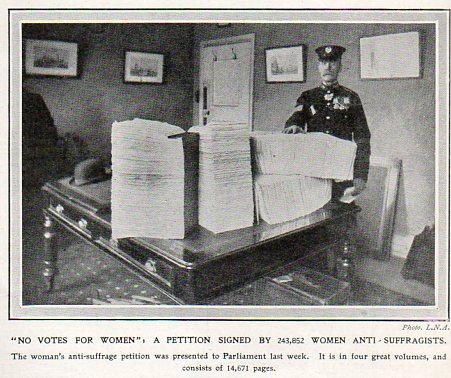 WOmen--petition against vote121