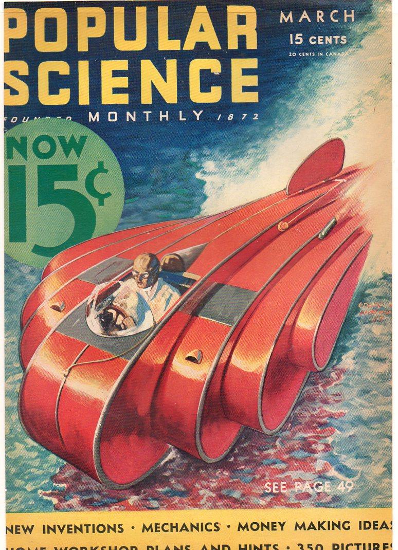 Jf Ptak Science Books Future Steampunk In The Sea 1930 S Popular