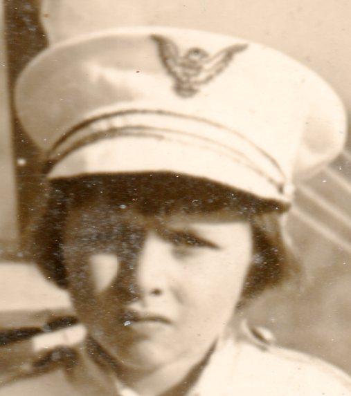 WWI photo--girl submarine252