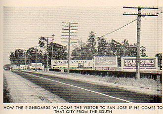 Roadside billboards 273