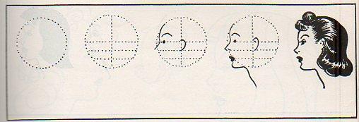 Blank women--anatomy art profile283