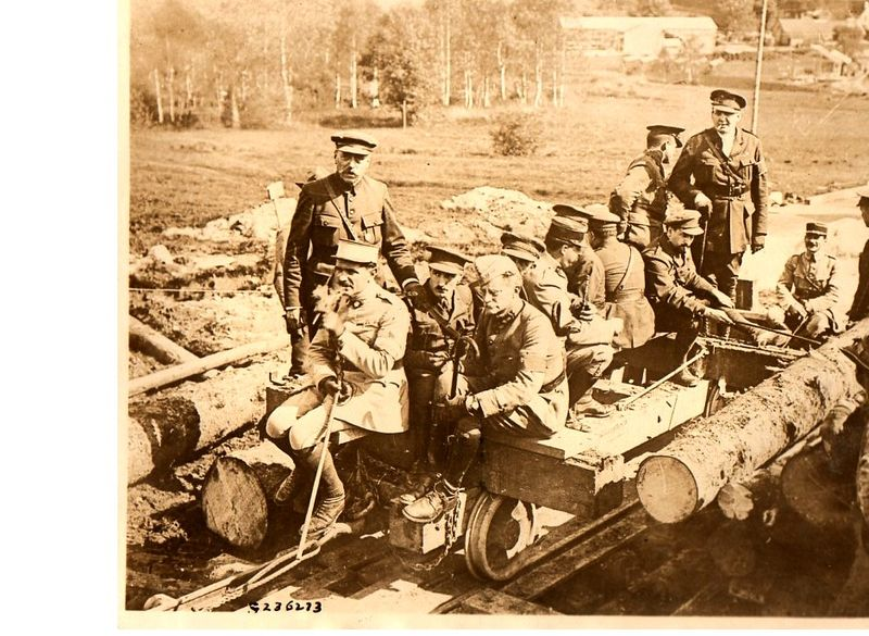 World War I photos-=trnch lumberjacks293