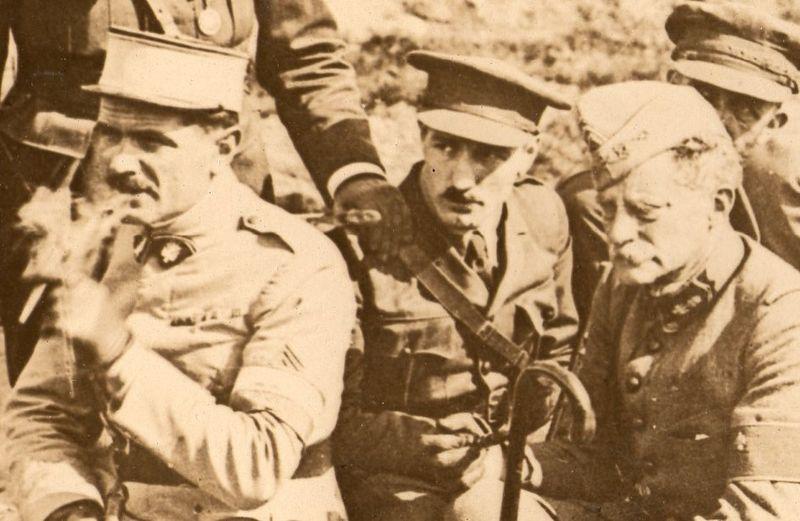 World War I photos-=axe men b296