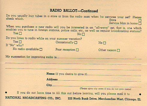 Radio Ballot d324
