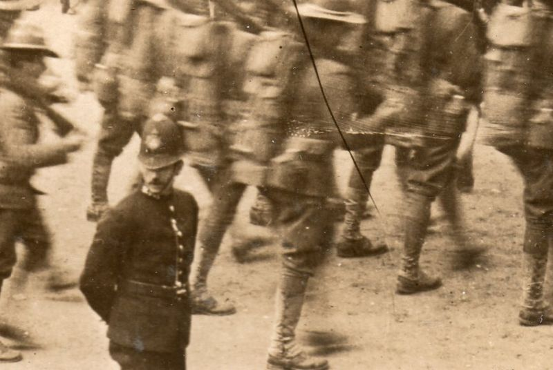 Marching london cop351