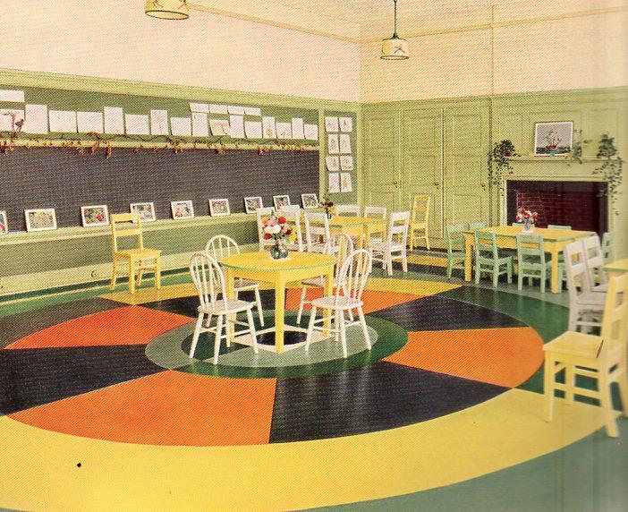 Color floor--kinder375
