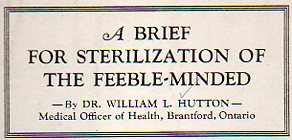 Sterilization--feeble minded388