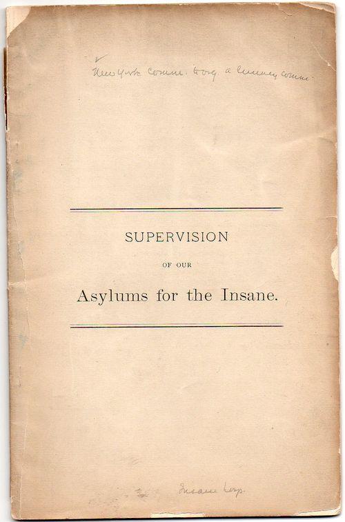 Insane supervision453