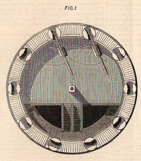 Technical drwg--revovl turret circular540