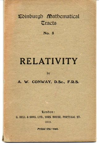 Relativity conway185