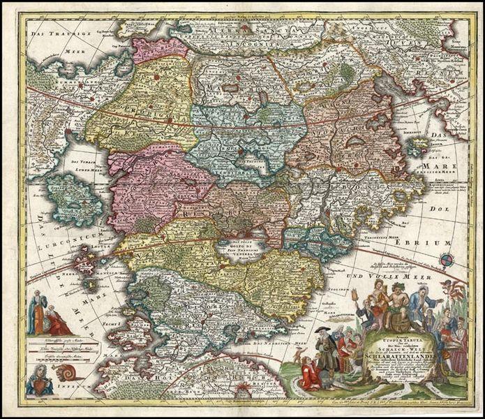 Maps of imagination  utopia