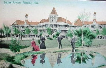 Lunatic post card  phoenix az