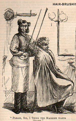 Hair brushing863