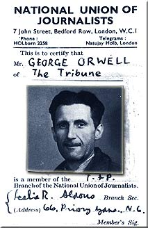 what is science george orwell
