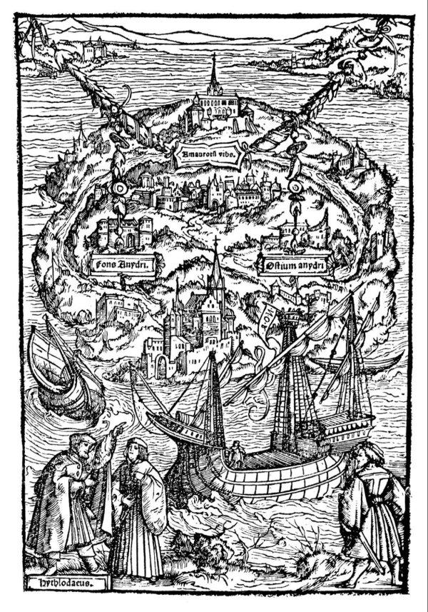 Maps Imagination more's utopia