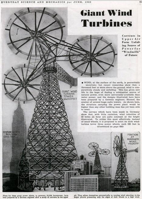Giant-turbines