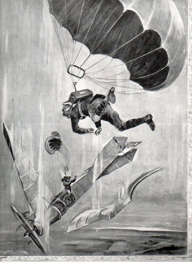 Parachute bomb454