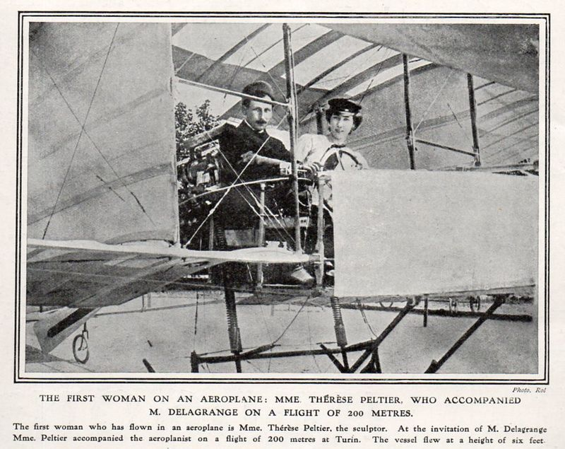 Aviation--first woman502