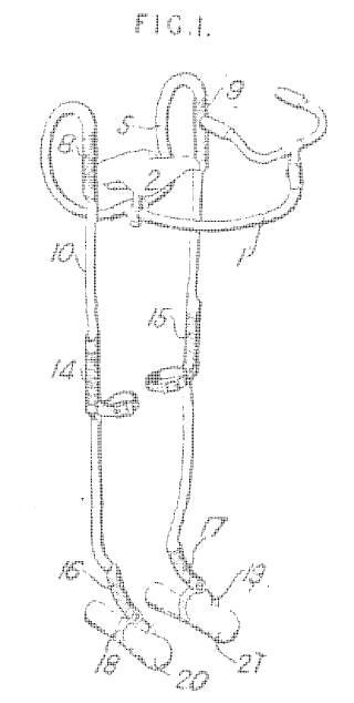 Patent Brit walking running machine