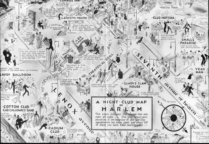 Maps imagination harlem