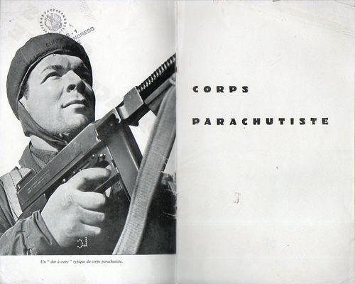 Corps parachutiste b266