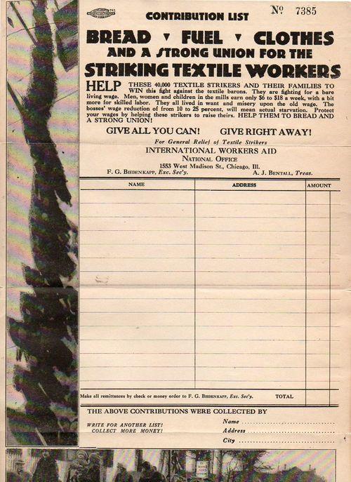 Passaic strike277