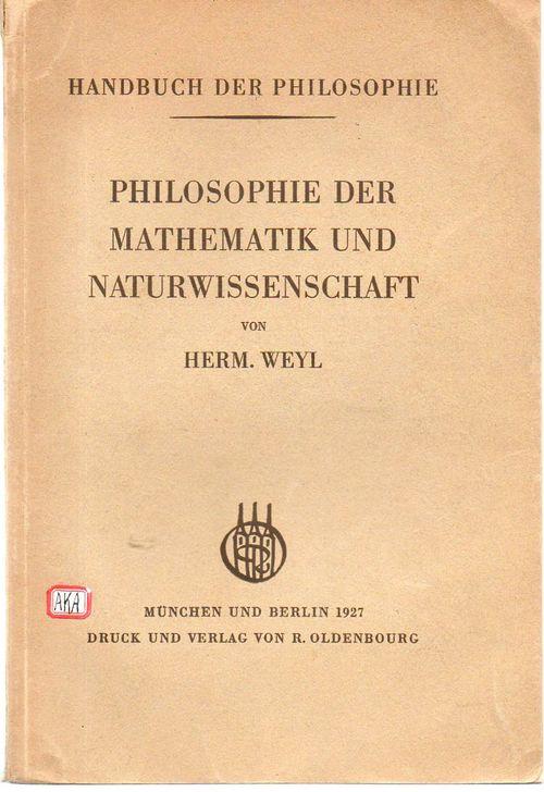 Weyl philosophie347