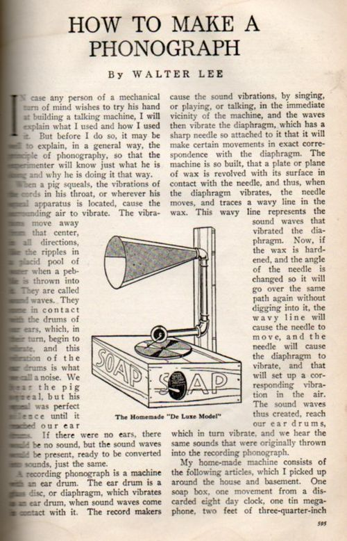How to phonograph228