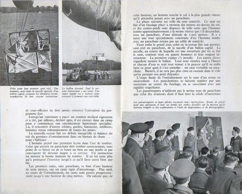 Corps parachutiste d268