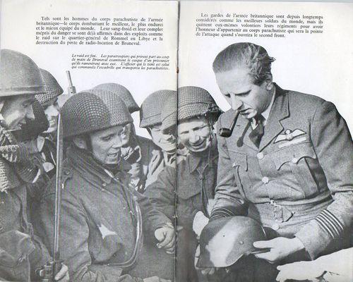 Corps parachutiste j274