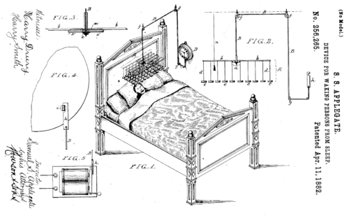 Patent waking people up