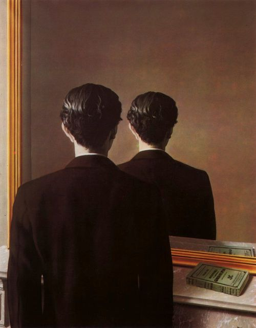 Backwards--magritte