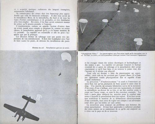 Corps parachutiste g271