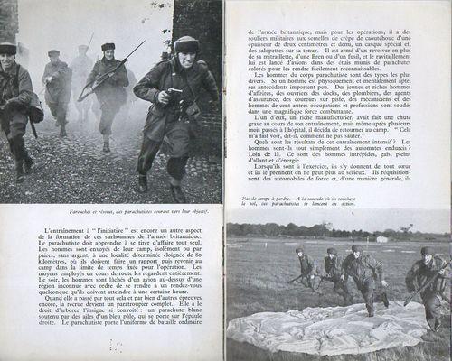 Corps parachutiste h272
