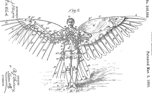 Patents--spalding flying