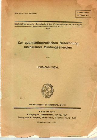 Weyl quanten II349