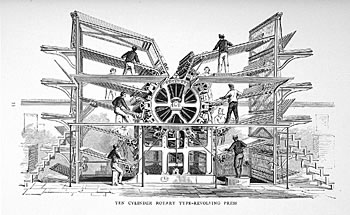 Pritning machine